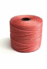 BeadSmith Super-Lon Nylongarn Standard TEX 210, Farbe 62 chinese coral