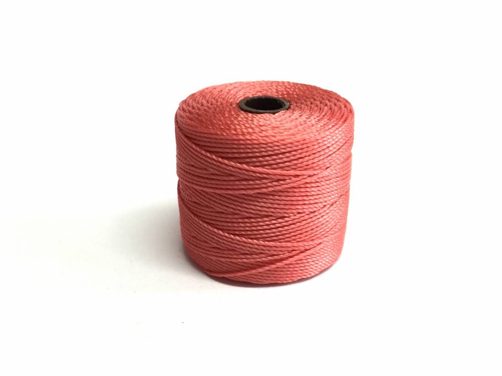 Farbe Coral lon nylongarn tex 210 farbe chines coral bei bead more