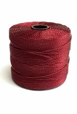 BeadSmith Super-Lon Nylongarn Standard TEX 210, Farbe 73 dark red