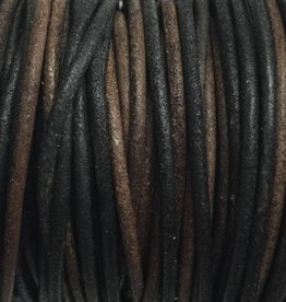 Lederkordel rund Ø 1,5 mm, natural gipsy brown