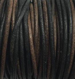Lederkordel rund Ø 2 mm, natural gipsy brown
