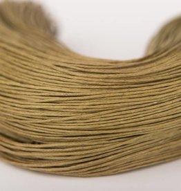gewachste Baumwollkordel 1mm, Farbe 14 khaki