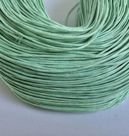 gewachste Baumwollkordel 1mm, Farbe 23 mint