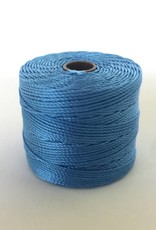 BeadSmith Super-Lon Nylongarn Standard TEX 210, Farbe 47 carribean blue
