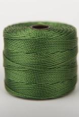 BeadSmith Super-Lon Nylongarn Standard TEX 210, Farbe 30 green