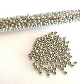 Metallperlen 8/0 - Heavy Metal Seed Beads - beige