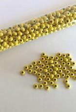 Metallperlen 8/0 - Heavy Metal Seed Beads - yellow