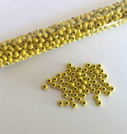 Metallperlen 8/0 - Heavy Metal Seed Beads - yellow