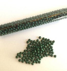 Metallperlen 8/0 - Heavy Metal Seed Beads - dark green