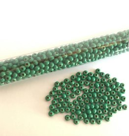 Metallperlen 8/0 - Heavy Metal Seed Beads - green