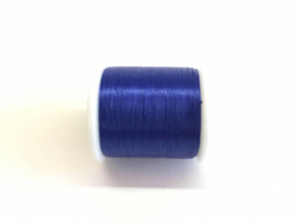 Perlenfaden KO, Farbe clear blue