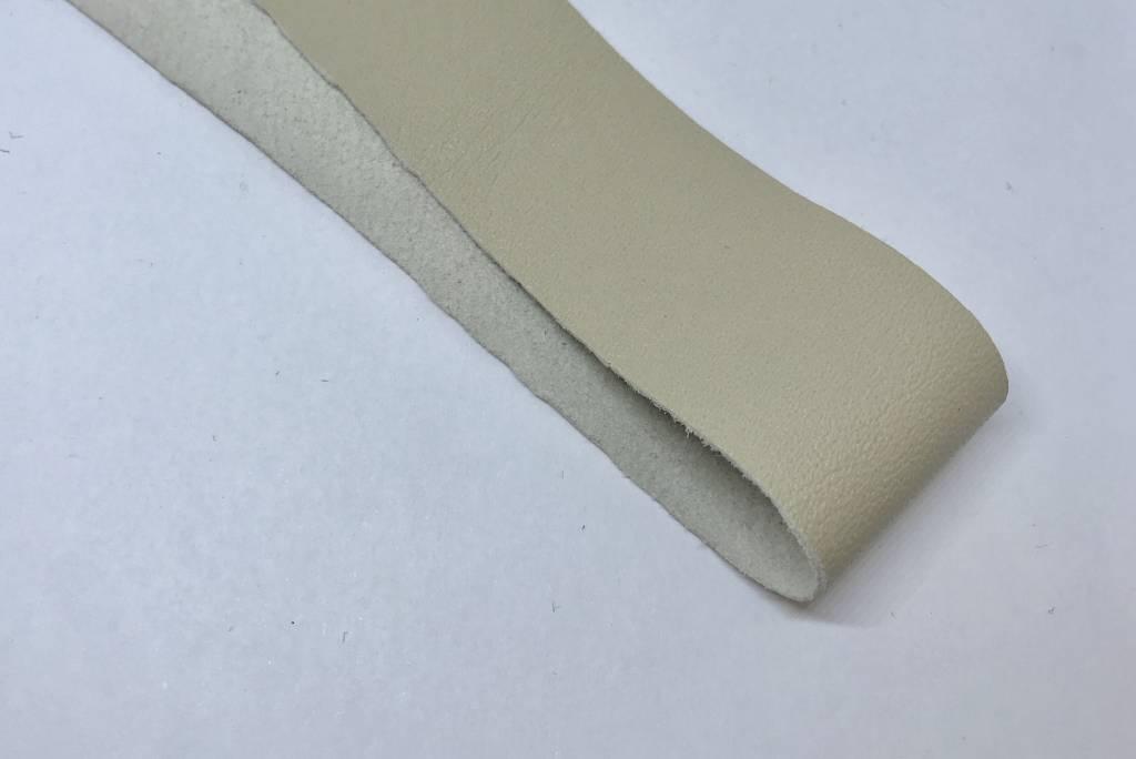 Lederstreifen 3 cm  für Sami Armband, Farbe beige