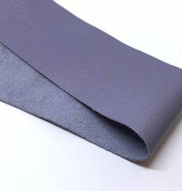 Lederstreifen 3 cm für Sami Armband, Farbe taubenblau