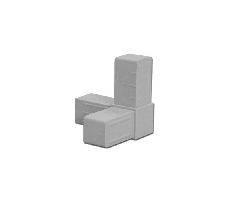 3-Weg  (Hoek) - 20 x 20 x 1,5mm