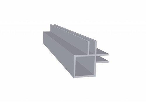 Obie 20 x 20 x 1,5 mm - 2 Flens (binnenkant) 4mm - 30 meter