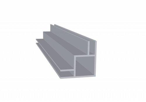 Obie 20 x 20 x 1,5 mm - 2 Flens (buitenhoek) 3mm - 30 meter