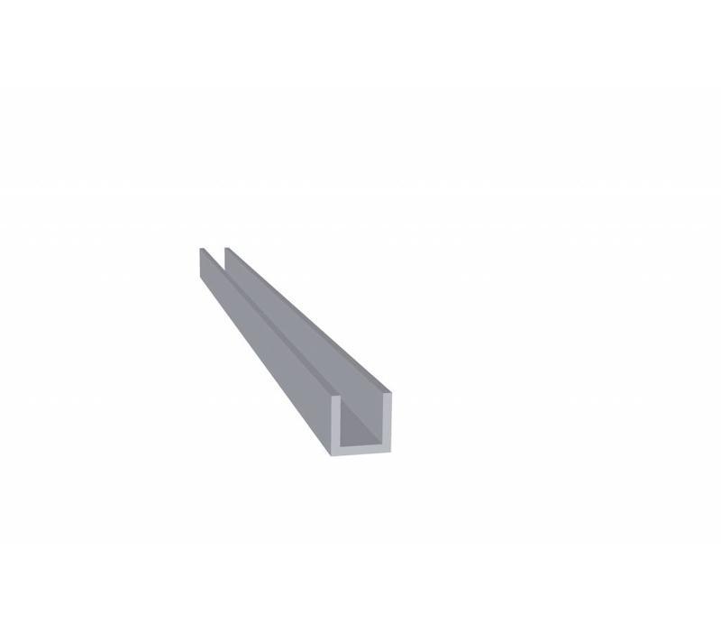Aluminium U Profiel 10 x 10 x 10 x 1,5 mm - U Profiel - 60 meter in 3000 mm