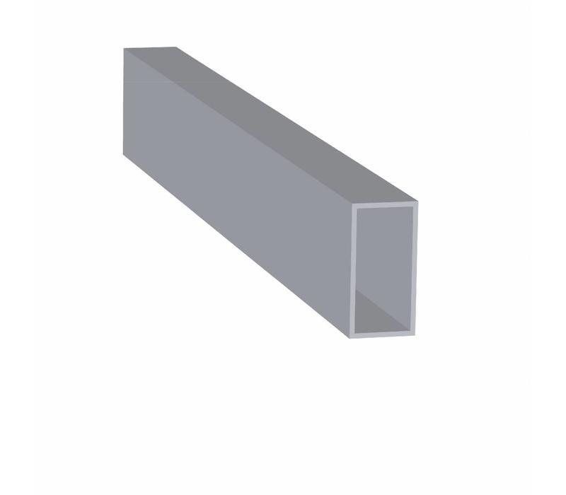 Aluminium Koker 40 x 80 x 3,0 mm - 12 meter in 6000 mm