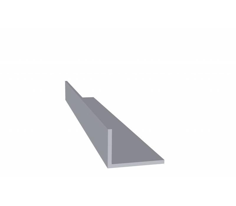Aluminium profiel 20 x 30 x 2,0 mm - Hoeklijn - 30 meter in 3000 mm