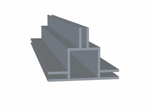 Obie 20 x 20 x 1,5 mm - 3 Flens 3mm + 3mm (midden) - 30 meter