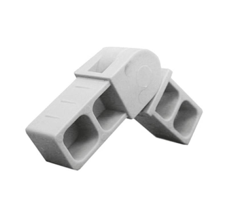 Schanierverbinder (Draaibaar) - 20 x 20 x 1,5mm