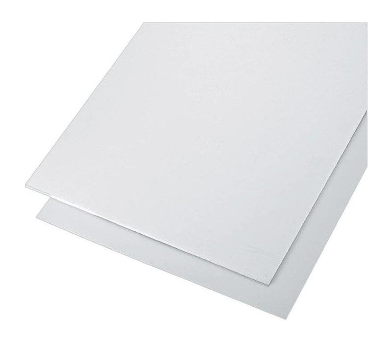 PS (Polystyreen) Platen 1000 x 2000 x 3,0mm - Wit (RAL 9010)