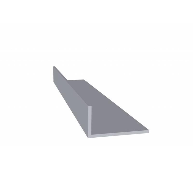 Aluminium profiel 20 x 40 x 2,0 mm - Hoeklijn - 60 meter in 6000 mm