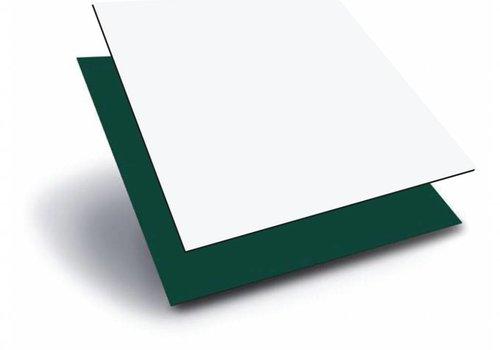 Obie ACP 1000 x 2000 x 3,0mm - Wit / Groen