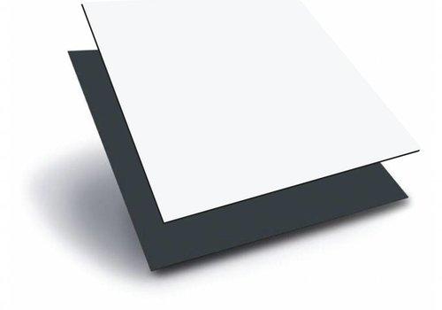 Obie ACP 1000 x 2000 x 3,0mm - Wit / Antraciet