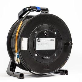100M Glas fiber kabel met LC connectoren