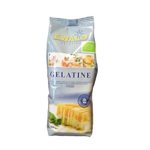 Ewald Gelantine - Bio Speisegelatine pulverisiert, 1.000g