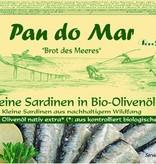 Pan do Mar Pan do Mar - Kleine Sardinen in Bio-Olivenöl, 120g