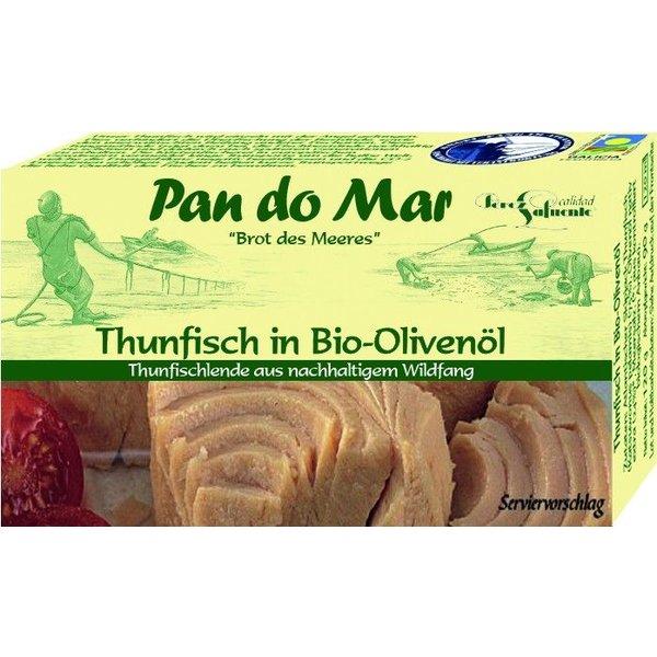 Pan do Mar - Thunfisch in Bio-Olivenöl, 120g