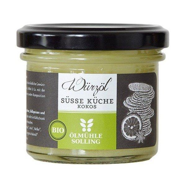 Ölmühle Solling - 'Süße Küche' Bio-Kokoswürzöl, 100ml