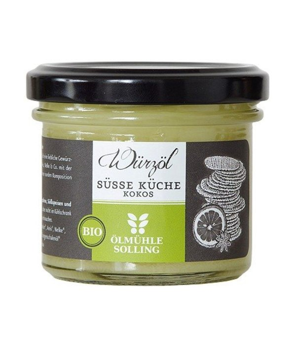 Ölmühle Solling Ölmühle Solling - 'Süße Küche' Bio-Kokoswürzöl, 100ml