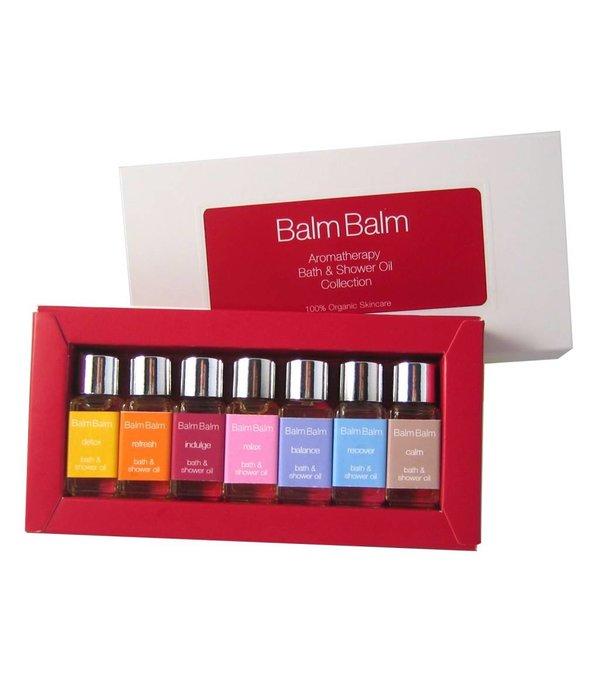 Balm Balm Balm Balm - 'BIJOU' Dusch- und Badeölkollektion, 7 x 5ml