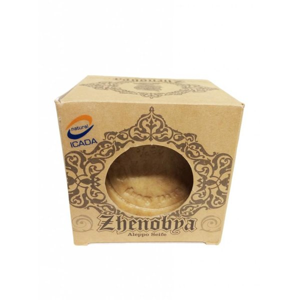 Zhenobya - BIO Alepposeife 75% Olive,25% Lorbeer, 200g