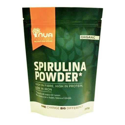 Nua Naturals Nua Naturals - Spirulina Pulver, 250g
