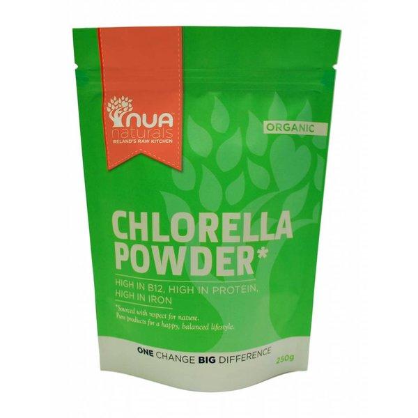 Nua Naturals - Chlorellapulver, 250g