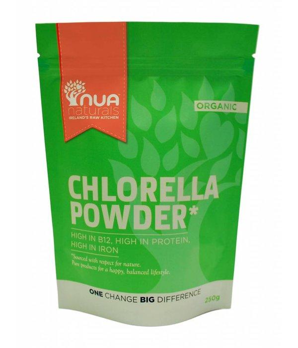 Nua Naturals Nua Naturals - Chlorellapulver, 250g