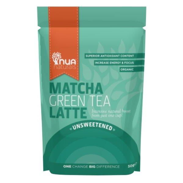 Nua Naturals - 'ungesüßt' Matcha Green Tea Latte, 50g