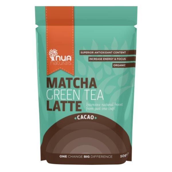 Nua Naturals - 'Cacao' Matcha Green Tea Latte, 50g