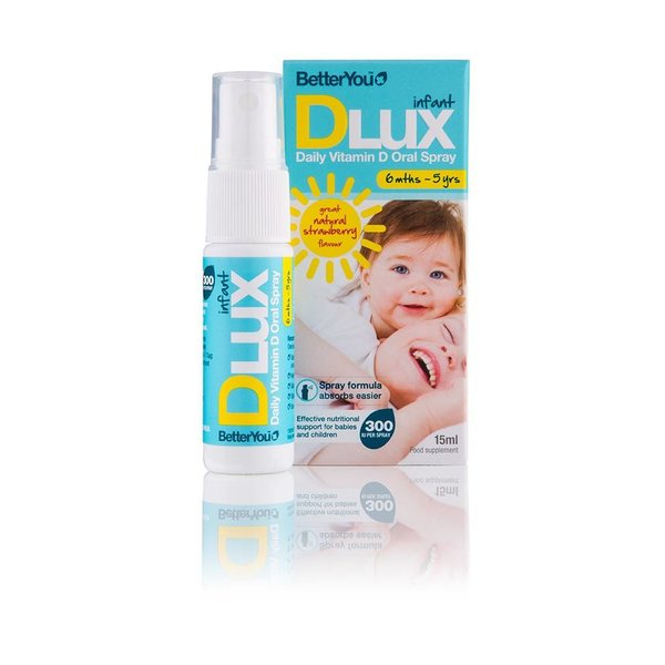 Better You - Dlux infant Vitamin D3 Mundspray, 15ml