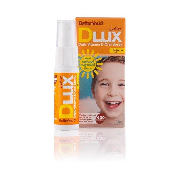 Better You - Dlux Junior Vitamin D Spray, 15ml