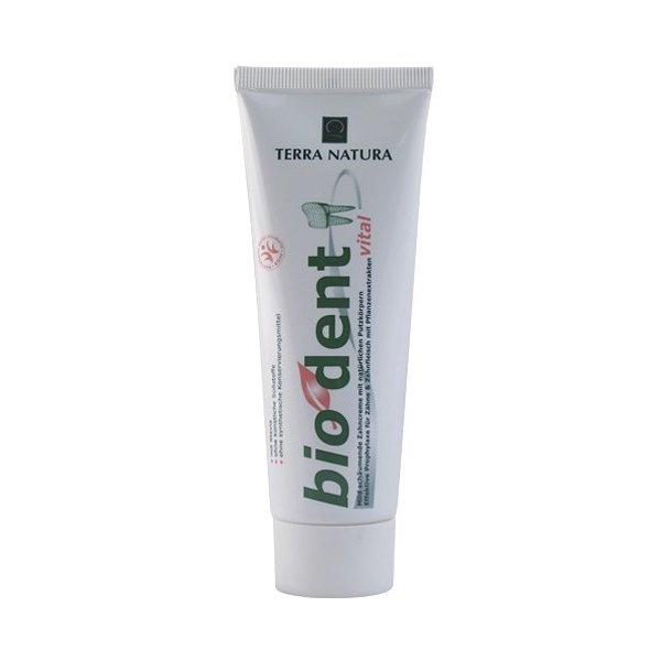 Zahnpasta 'vital' mit Pflanzenextrakten
