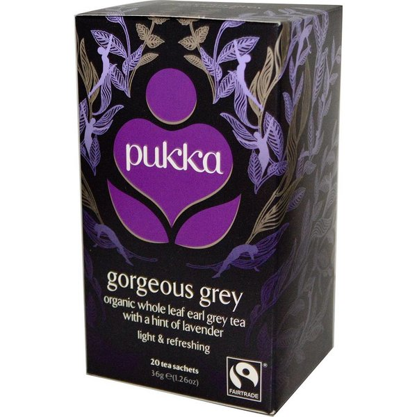Pukka - 'Gorgeous Earl Grey' Bio-Tee, 20 Blt