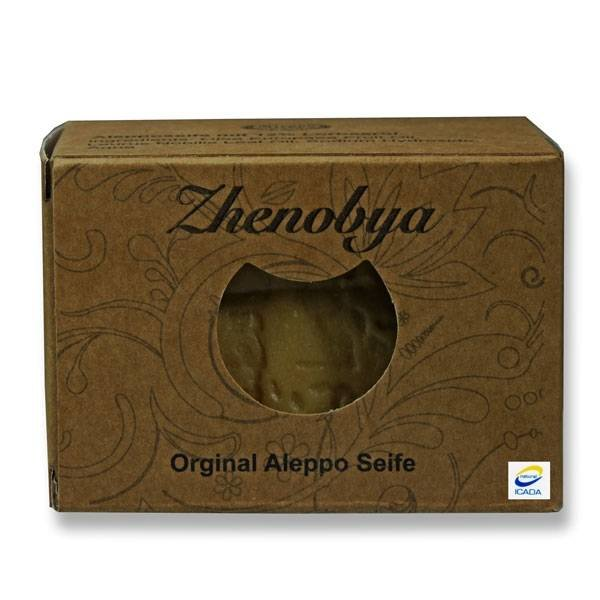 Zhenobya - Alepposeife 88 % Olivenöl 12 % Lorbeeröl, 200g