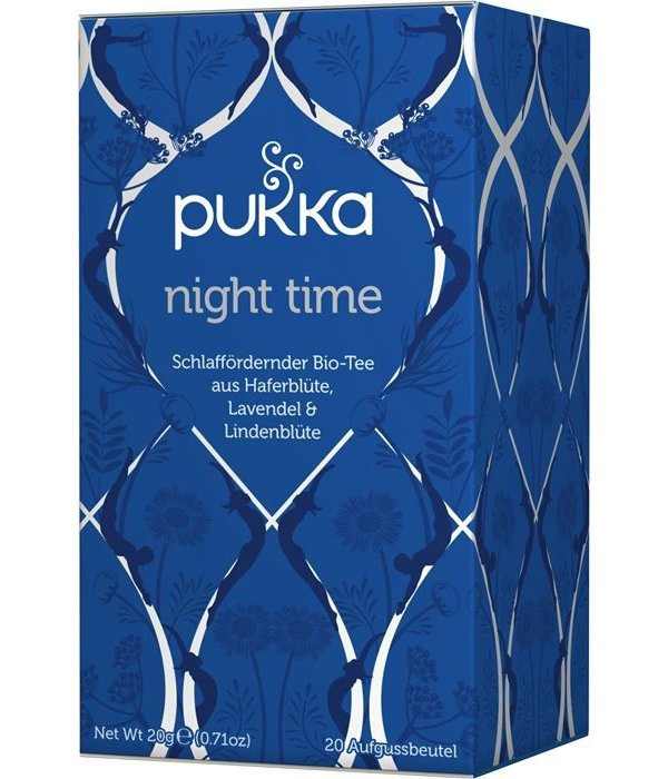 Pukka Pukka - 'night time' Bio-Tee, 20 Blt