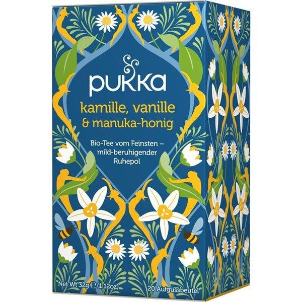 Pukka - 'Kamille, Vanille & Manuka-Honig' Bio-Tee, 20 Blt