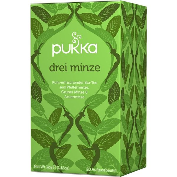 Pukka - 'Drei Minze' Bio-Tee, 20 Blt